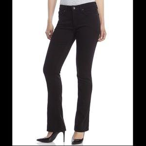 spanx • Black Slim-X Slim Skinny Boot Cut Jeans